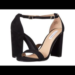 Steve Madden Black Black Heels